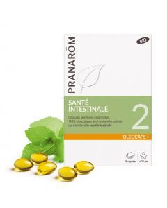 Pranarôm Oléocaps 2 Santé Intestinale Bio 30 Capsules
