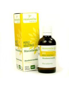 Pranarôm Huile Végétale de Macadamia 50ml