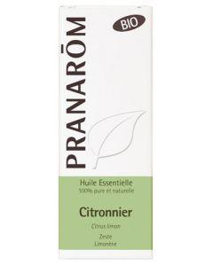 Pranarôm Huile Essentielle Citronnier Bio 10ml