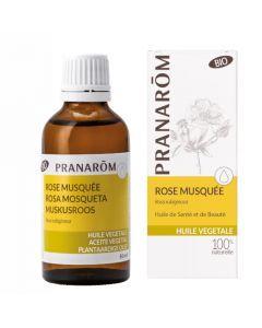 Pranarôm Huile Végétale de Rose Musquée Bio 50ml