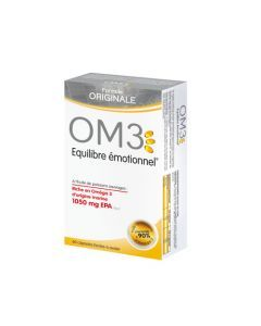 OM3 Equilibre Emotionnel Formule Originale - 60 Capsules