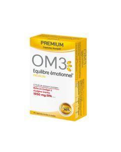 OM3 Équilibre Émotionnel Formule Premium - 45 Capsules
