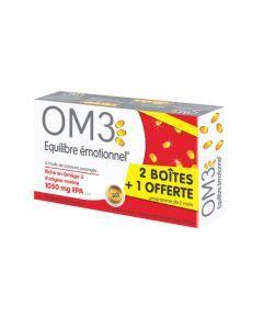 OM3 Équilibre Émotionnel Pack - 3x60 Capsules