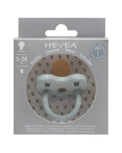 Hevea Tétine Ronde 3-36 mois couleur Gorgeous Grey