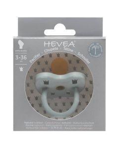 Hevea Tétine Physiologique 3-36 mois couleur Gorgeous Grey