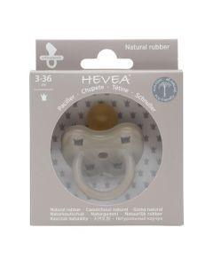 Hevea Tétine Physiologique 3-36M couleur Reindeer Grey