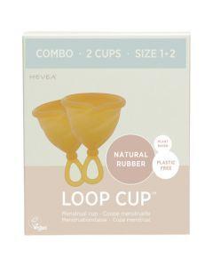 Hevea Combo 2 Loop Cup T1 et T2 Caoutchouc Naturel