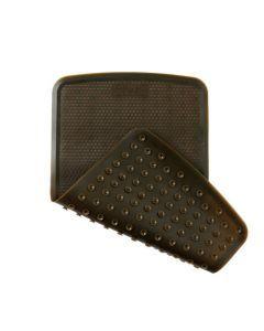 Hevea Tapis de Bain 55x32cm Charcoal