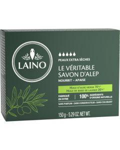 Laino Le Véritable Savon D'Alep Huile D'Olive Vierge & Huile De Baies De Laurier 150g