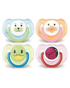 Avent Sucette 6-18M Silicone Animaux