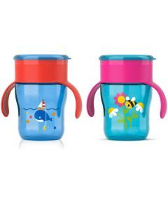 Avent Tasse d'Apprentissage 260Ml Abeille/Baleine