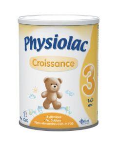 Physiolac  Croissance 3 Lait de Croissance 1-3 Ans 900g