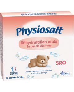 Physiolac Physiosalt SRO Sels de Réhydratation Orale 100g
