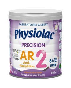 Physiolac Précision AR 2 Lait Anti-régurgitations 2ème Âge 800g
