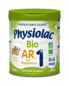 Physiolac Bio AR 1 Lait Anti-régurgitations 1er Âge 800g