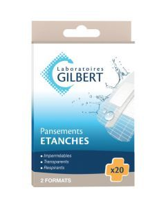 Gilbert Pansements Etanches 20 Pansements