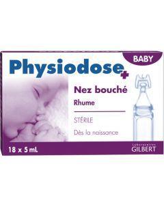 Physiodose Baby Rhume Nez Bouche 18 X 5 Ml