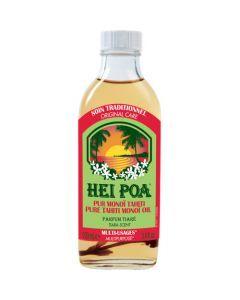 Hei Poa Pur monoï Tiaré avec fleur voyage Bora Bora 100 ml