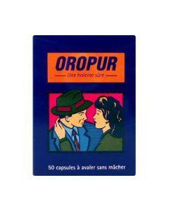 Oropur Haleine Purifiée Essence de Persil 2x25 Capsules Molles