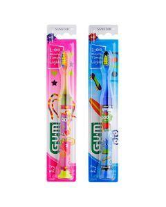 GUM Brosse à Dents Timer light 7+ 1 pièce
