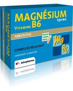 Arkopharma Arkovital Magnésium B6 60 gélules