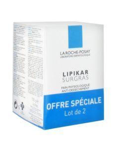 La Roche-Posay Lipikar Pain Surgras Lot de 2 x 150g