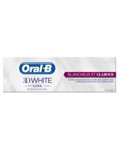 Oral-B 3D White Luxe Blancheur Et Glamour Dentifrice 75 ml