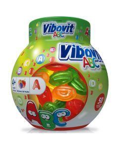 Vibovit Gomme Vitaminée ABC Bocal de 50 Gommes