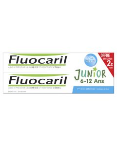 Fluocaril Junior Bubble Gum Dentifrice 2x75 ml