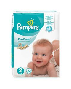 Pampers ProCare Premium Protection Taille 2 3-6 kg 36 Couches
