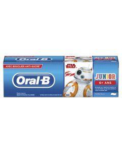 Oral-B Junior, Disney Star Wars, 6 Ans Et Plus, Arôme De Menthe Douce, Dentifrice 75 ml