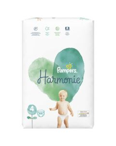 Pampers Harmonie Taille 4 Couches x66