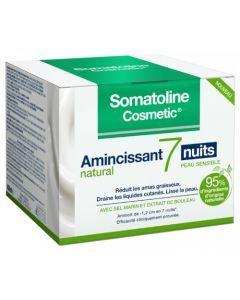 Somatoline Cosmetic Amincissant 7 Nuits Natural Peau Sensible 400ml