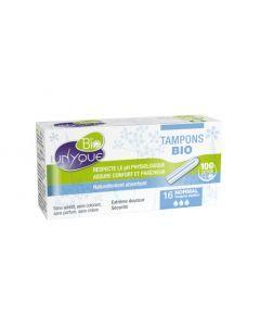 Unyque Bio Tampon Digital 100% Coton Bio Normal x16