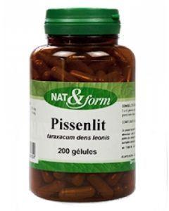 Nat&Form Pissenlit 200 Gélules