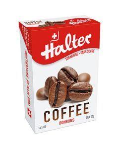 Halter Bonbons Sans Sucre Café 40G