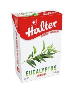Halter Bonbons Sans Sucre Eucalyptus 40G