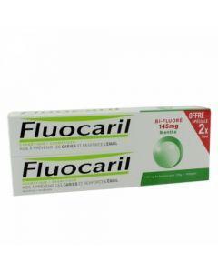 Fluocaril Bi-Fluoré Menthe 2x75g
