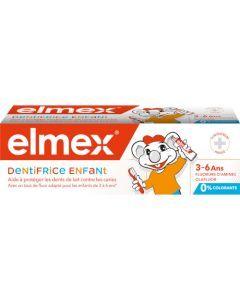 Elmex Dentifrice Enfant 3-6 ans 50ml