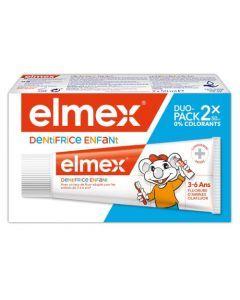 Elmex Dentifrice Enfant 3-6 ans 2x50ml