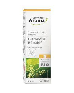 Le Comptoir Aroma Citronella Composition Pour Diffusion Répulsive 30ml