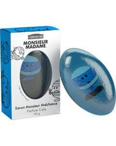 Le Comptoir du Bain Savon Monsieur Malchance - Parfum Cola 100 g