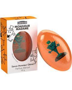 Le Comptoir du Bain Savon Monsieur Genial Parfum Abricot 100g