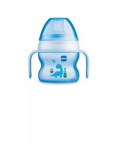 MAM Tasse à Bec Souple Silicone Garçon - à partir de 6 mois - 150 ml