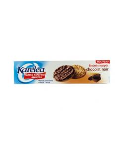 Karelea Biscuits Nappés au Chocolat Noir 5 Sachets