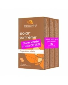 Biocyte Solar Extrême 2 Achetés + 1 Offert 40 Capsules