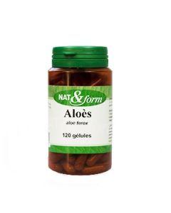 Nat&Form Aloes 120 Gélules