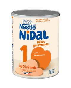 Nidal Bébé Gourmand 1 Boîte 800g