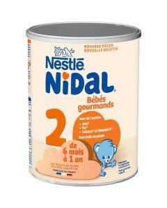Nidal Bébé Gourmand 2 Boîte 800g