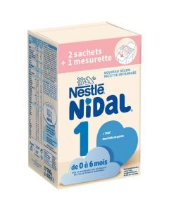 Nidal 1 Boîte avec Sachet 350g x 2
